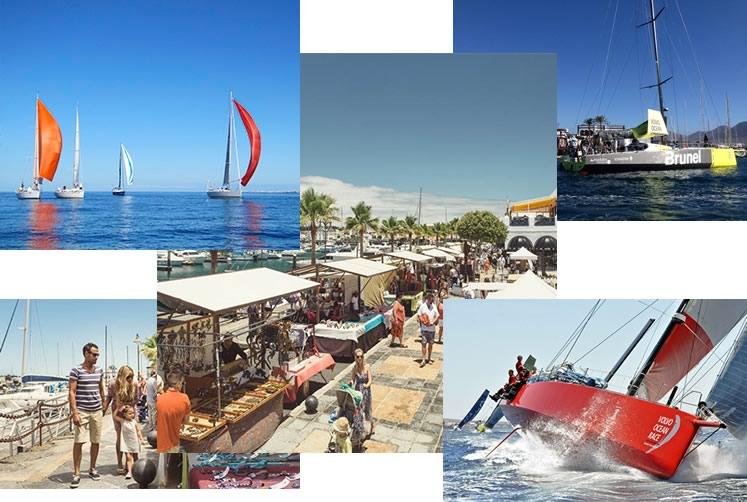 calendario de eventos en Marina Rubicón