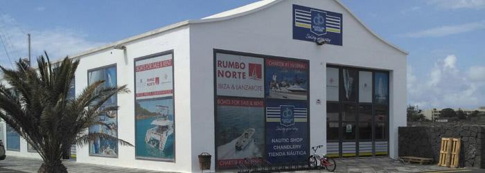 Tienda náutica en Lanzarote