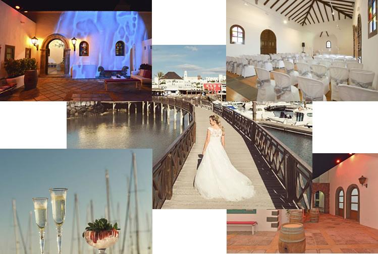 bodas y celebraciones en Marina Rubicón