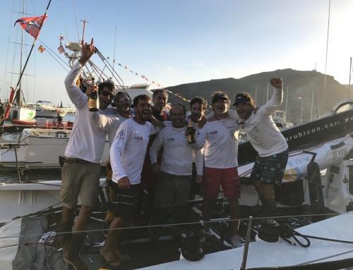 """Marina Rubicón – Doñana, campeón de una dura regata """"Huelva – La Gomera"""""""