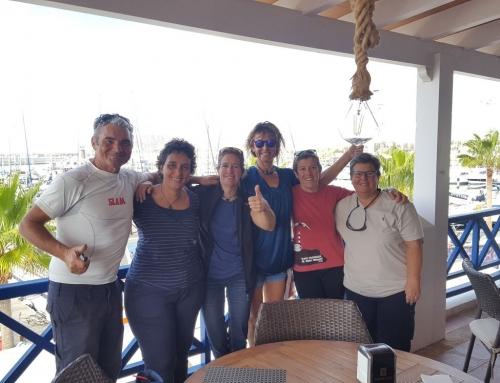 La travesía contra el cáncer de Ocean Dream llega a Marina Rubicón