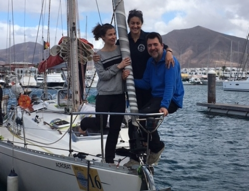 El proyecto Sailing Living Lab desembarca en Lanzarote guiado por las estrellas